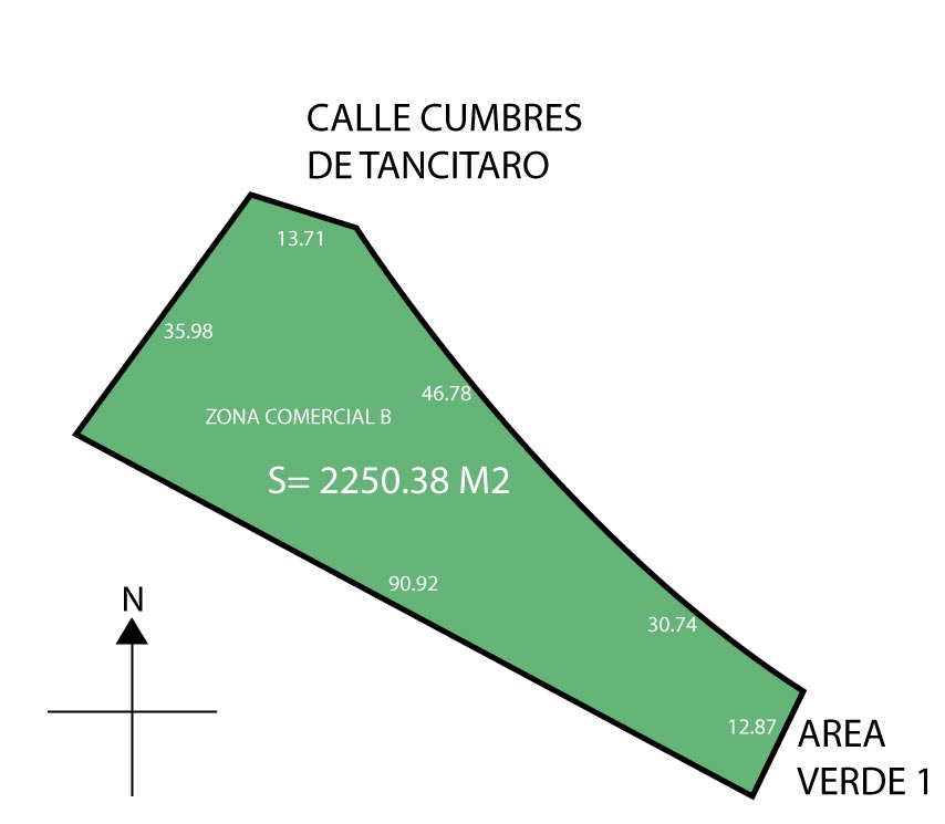 Terreno Comercial a pie de carretera Huimilpan